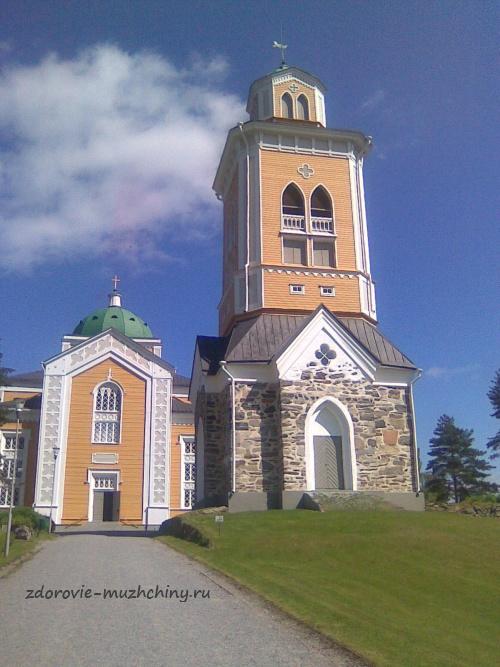 Деревянная церковь в Керимяки