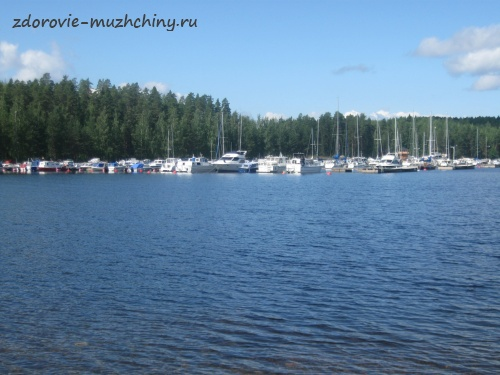 Озеро Сайма в районе Иматры