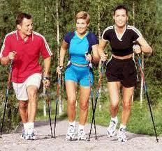 Скандинавская ходьба и потеря веса