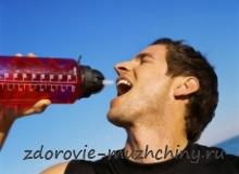 Скандинавская ходьба: питьевой режим