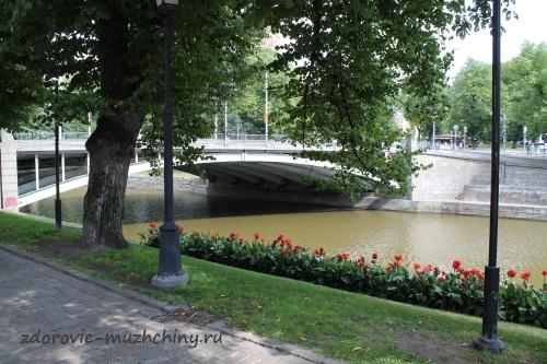Мост через реку Аура