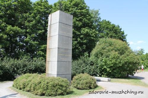 Памятник павшим за свободу