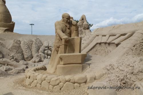 Песчаная скульптура2