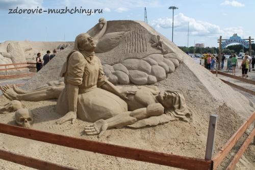 Песчаная скульптура3