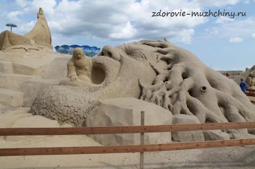 Песчаная скульптура4