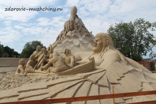 Песчаная скульптура8