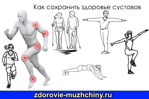Как сохранить здоровье суставов