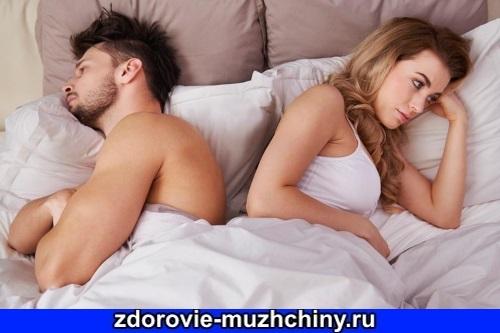 Различные типы мужской сексуальной дисфункции