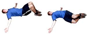 Подвижность нижней части спины