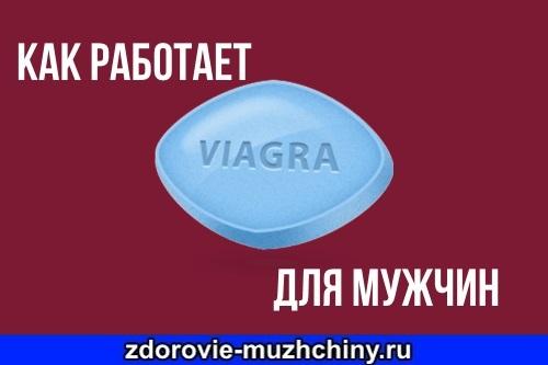 Как работает Виагра для мужчин
