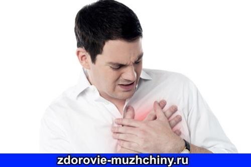 Симптомы сердечного приступа у мужчин до 40 лет