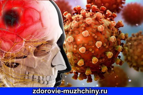 Воздействие Covid на мозг